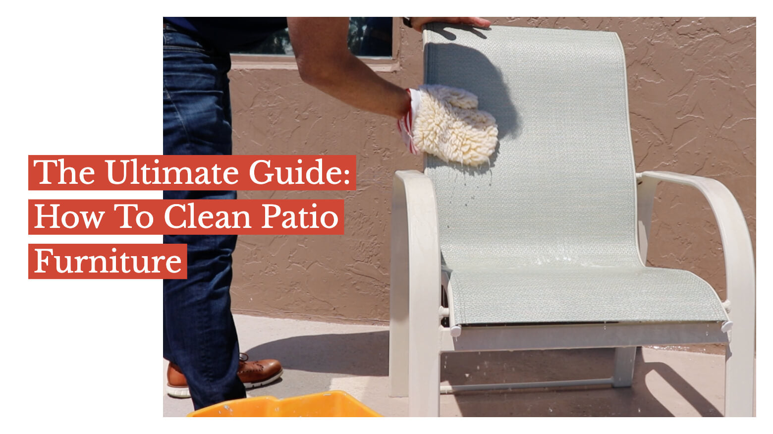 The Ultimate Guide: How to Clean Patio Furniture