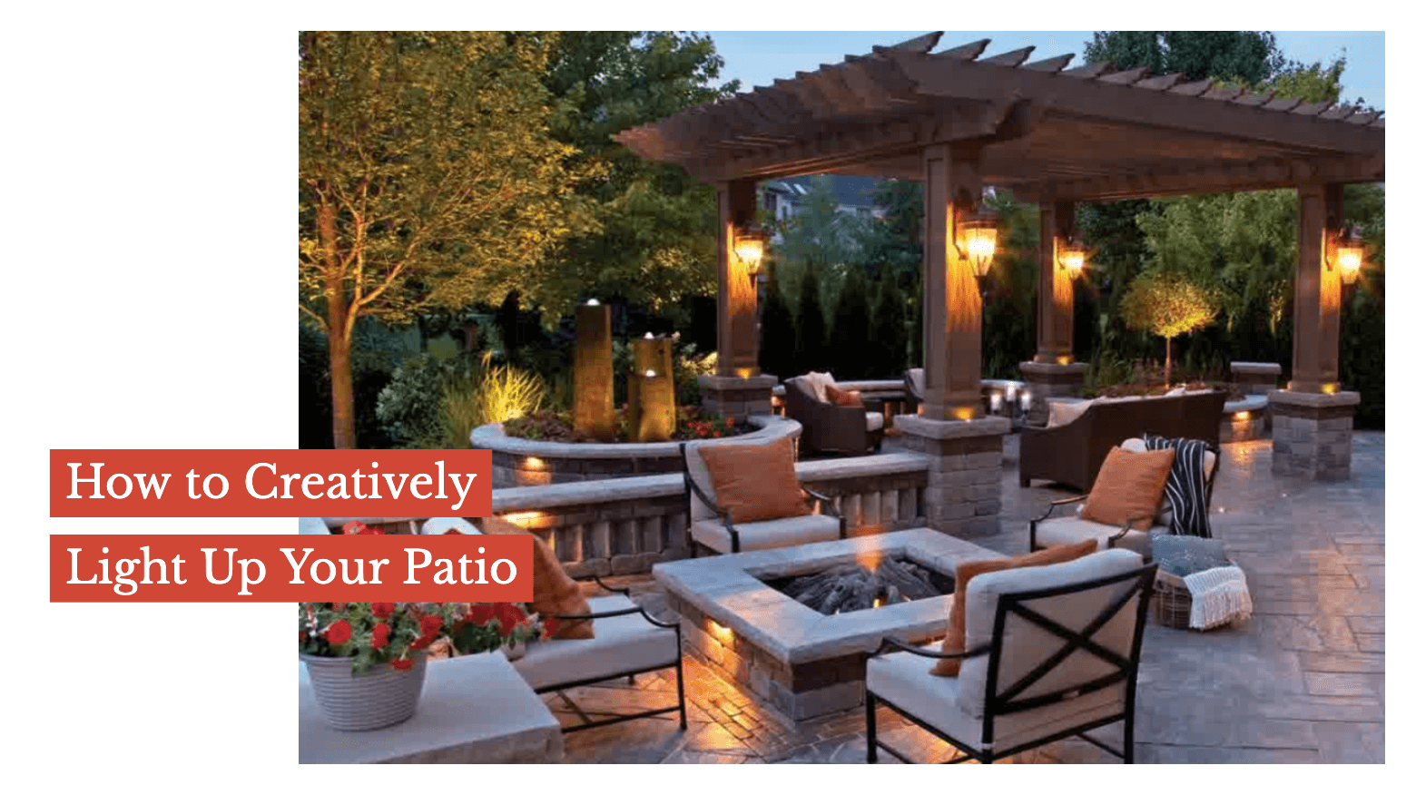 How to Creatively Light Up Your Patio