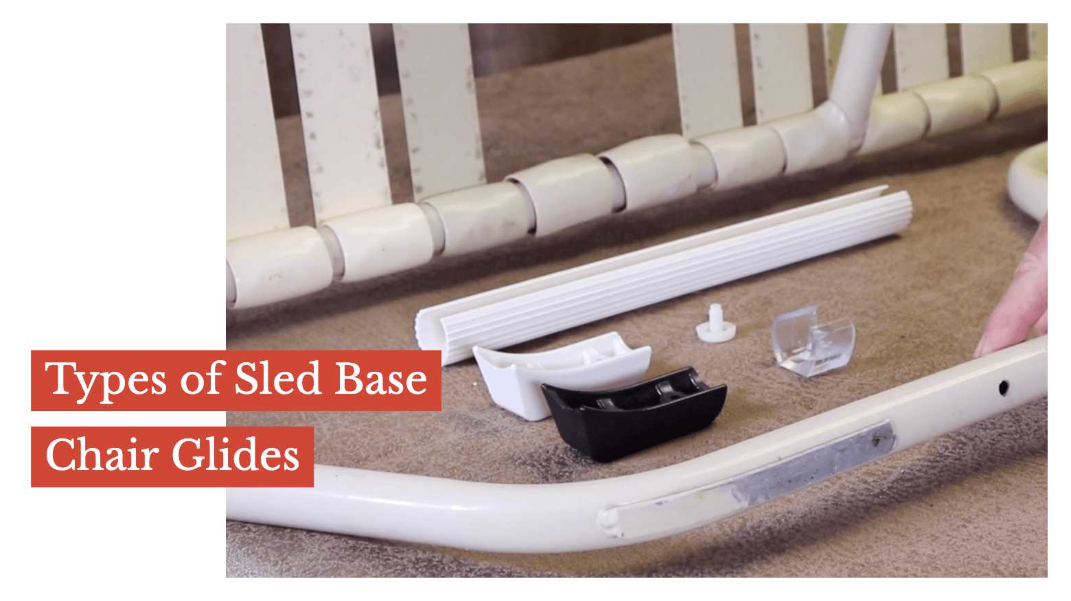 Types of Sled Base Chair Glides