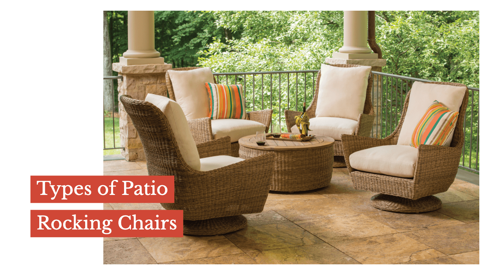 Types of Patio Rocking Chairs