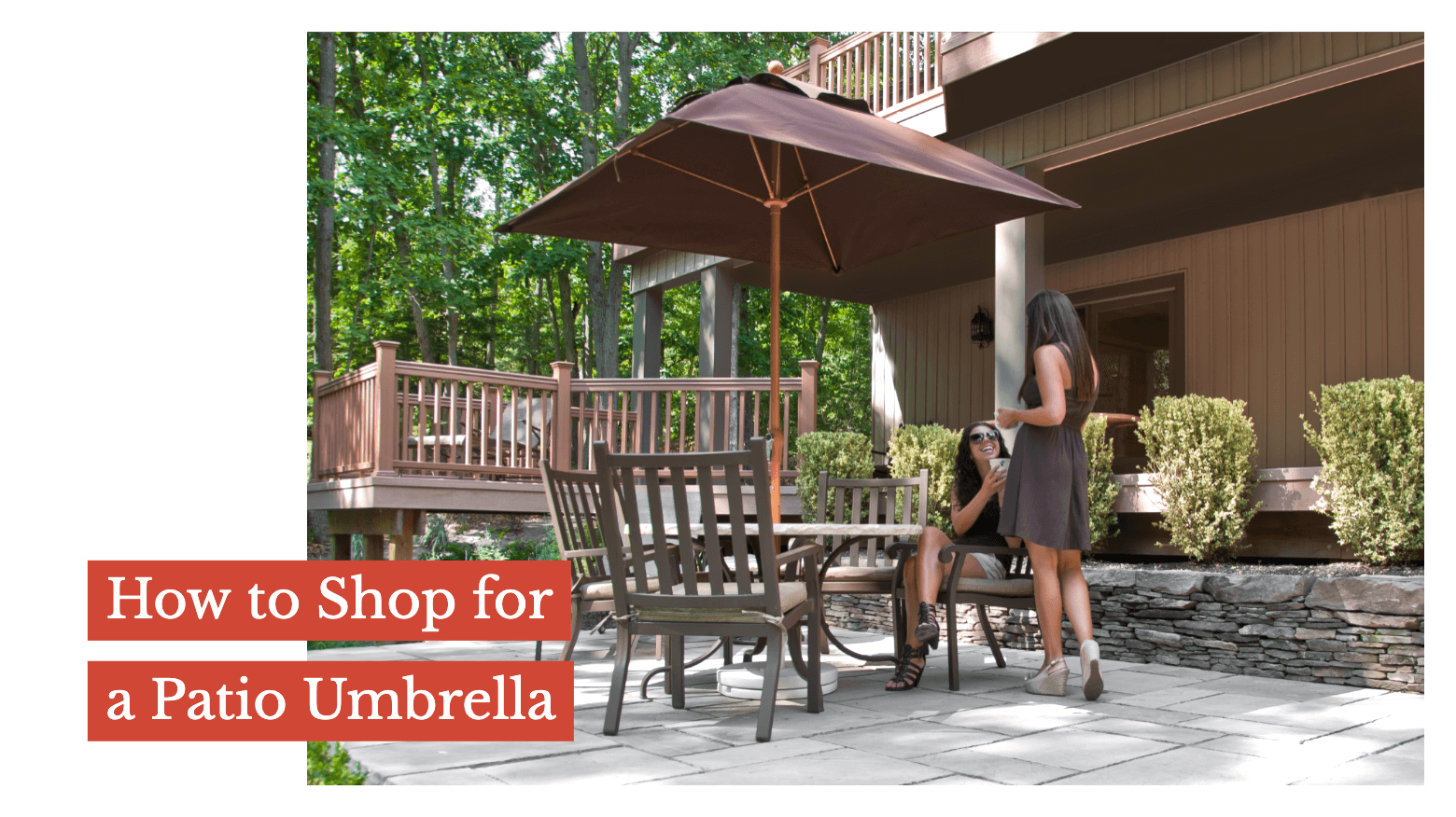 How to Shop for a Patio Umbrella