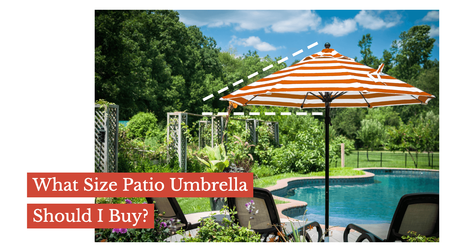 What Size Patio Umbrella Should I Buy?