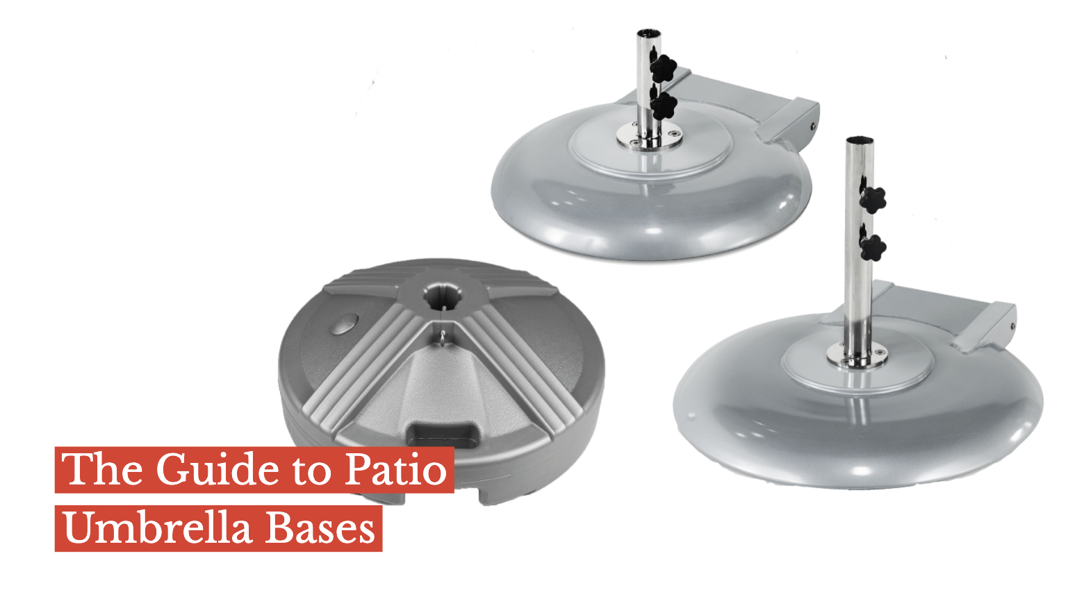 The Guide to Patio Umbrella Bases