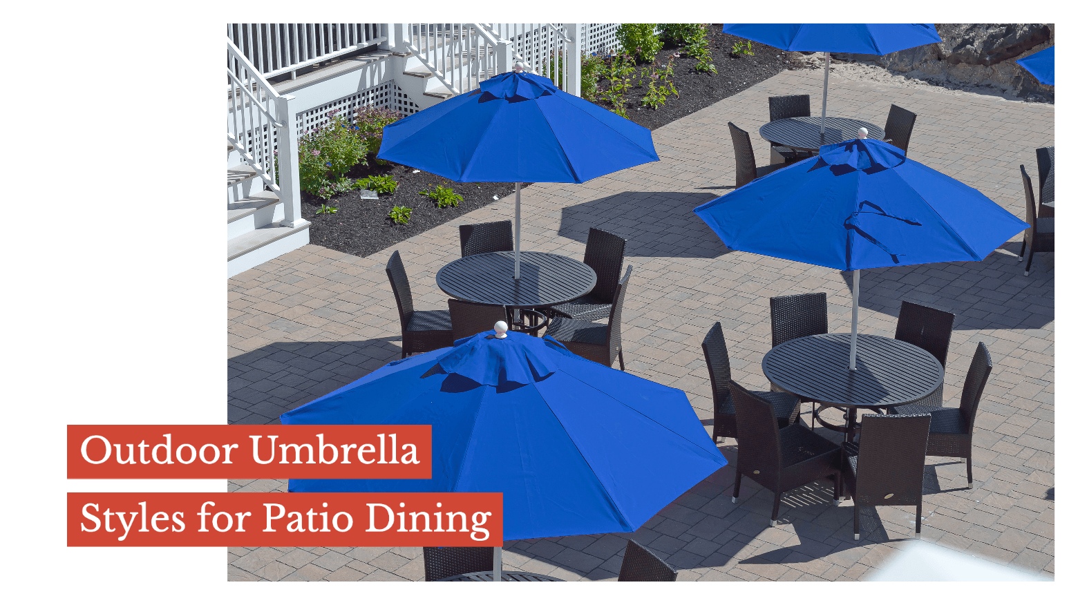 Outdoor Umbrella Styles for Patio Dining