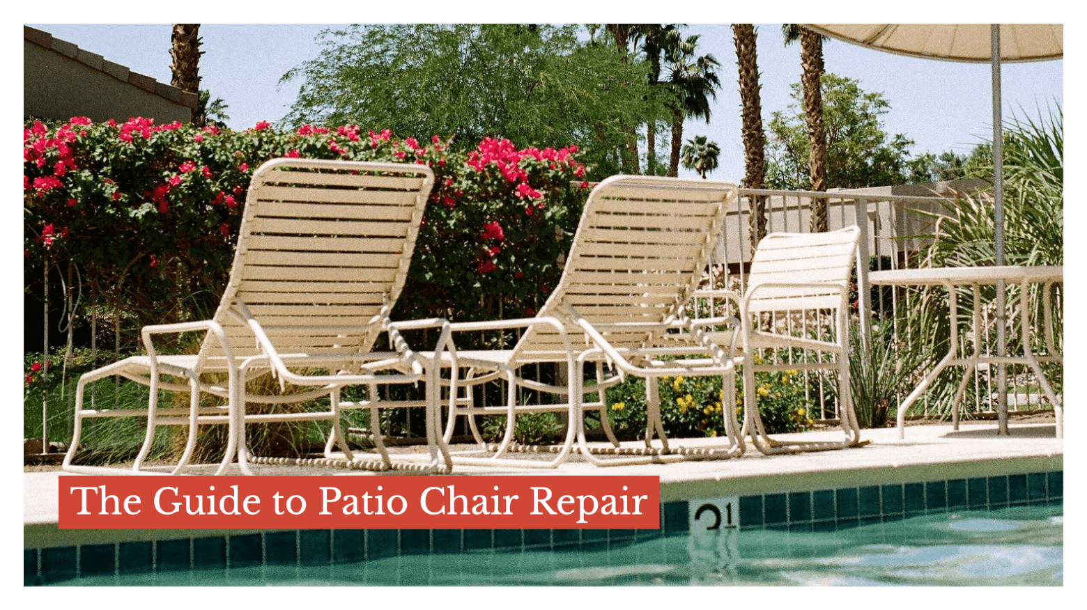 The Guide to Patio Chair Repair