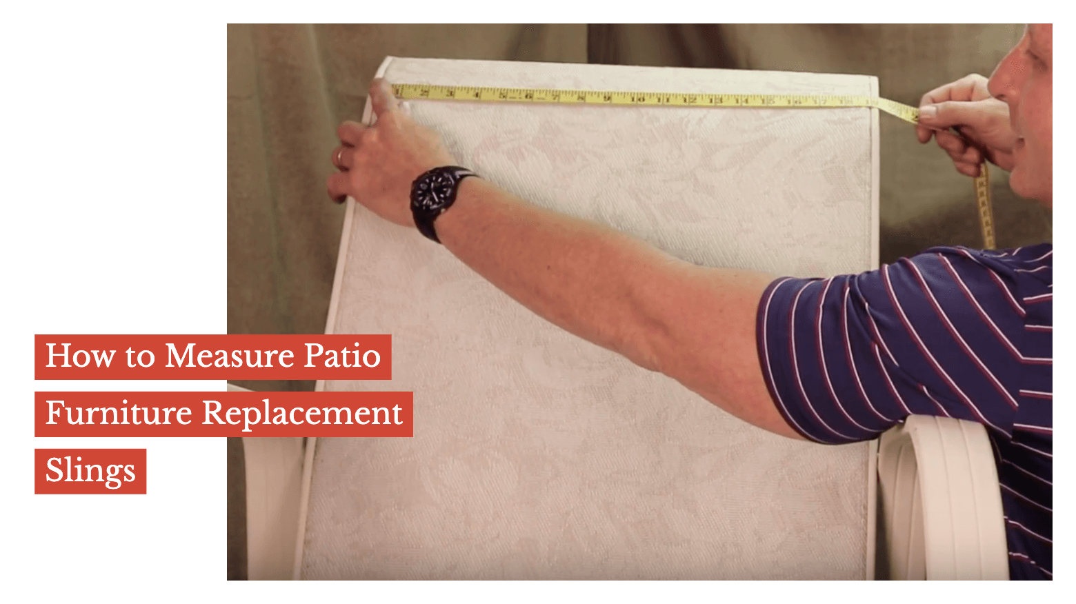 How to Measure Patio Furniture Replacement Slings