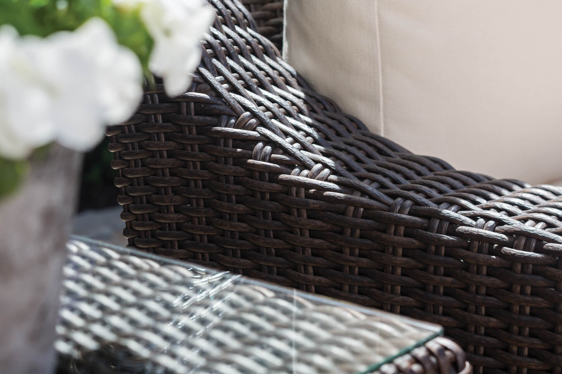 Explained Natural Wicker Synthetic Wicker And Rattan