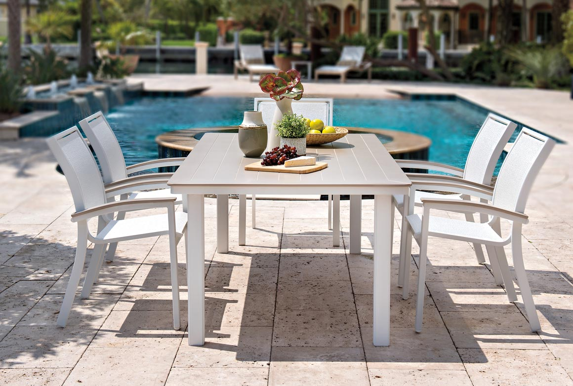 What Is Aluminum Sling Patio Furniture?