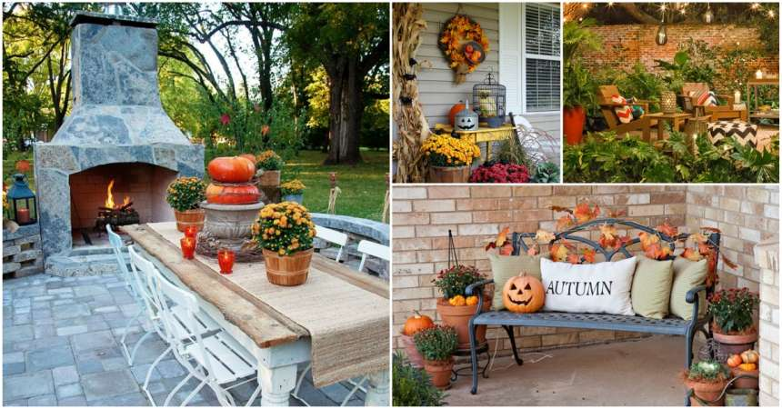 4 Easy Breezy Patio DIYs Decorations to Celebrate Fall