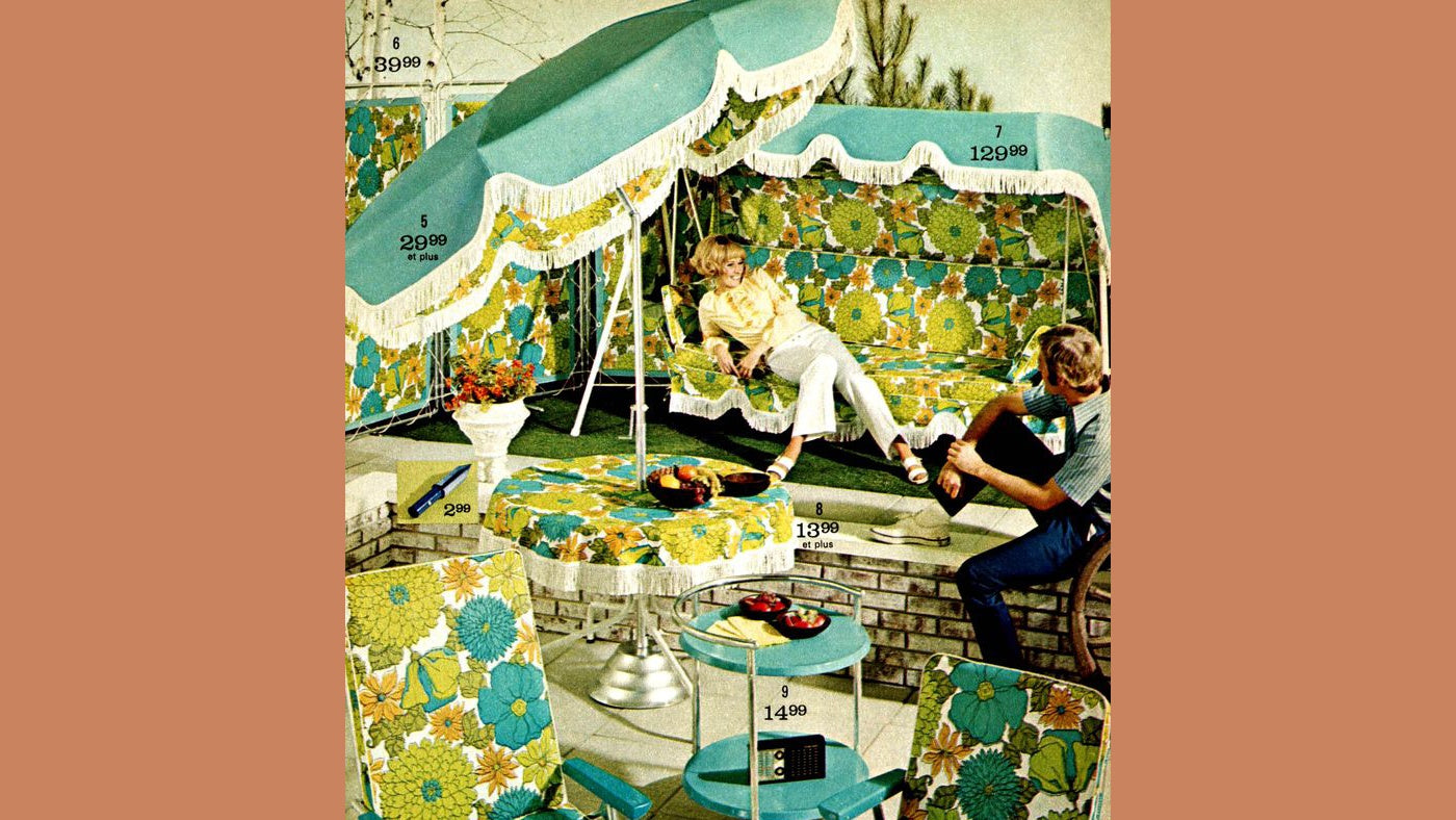 Patio Furniture - Then and Now [40 years in the making of a brand]