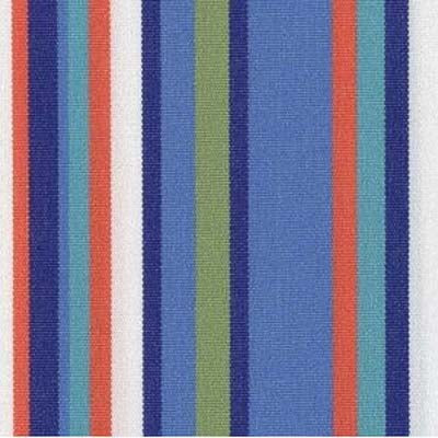 Atlantic Blue Stripe Wicker
