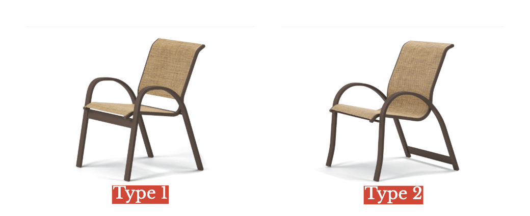 sling chair types