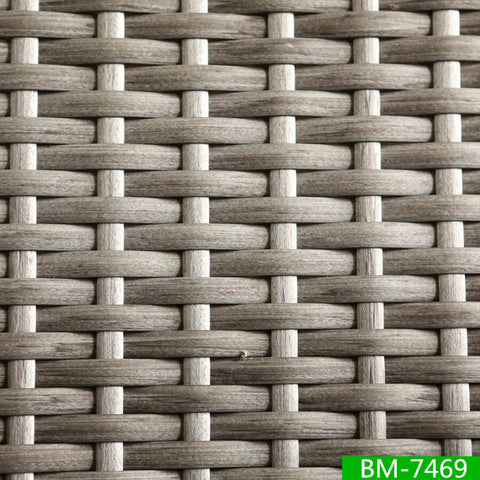 synthetic wicker weave