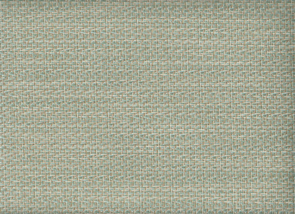 FP-041 | Reflection Seaglass Phifertex® Cane Wicker & Waffle Wicker