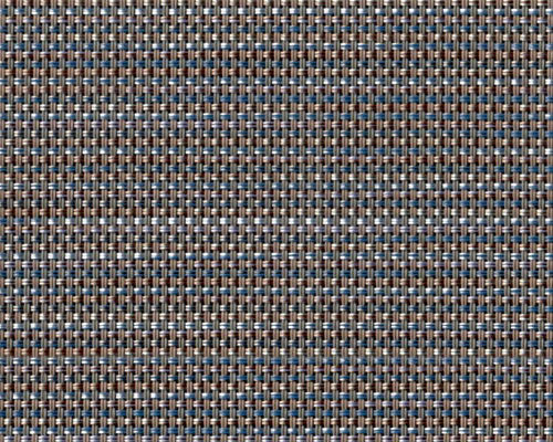 FP-057 | Pria Tweed Indigo Phifertex® Cane Wicker