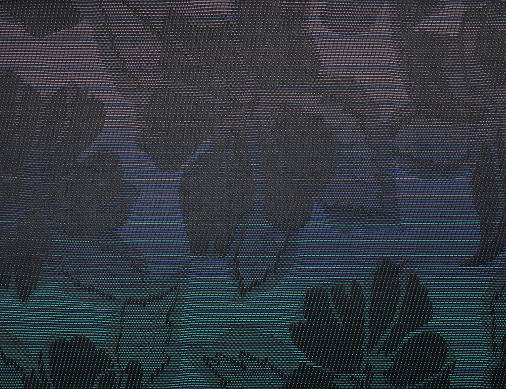 Z44-3004443 | Wild Orchid Black Phifertex Jacquard Plus® Fabric