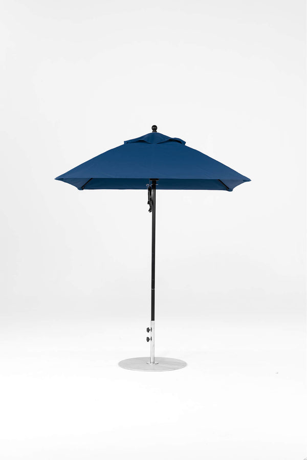 Monterey Pulley Lift Umbrella | Square | Black Frame