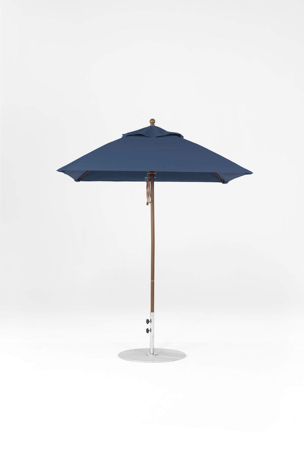 Monterey Pulley Lift Umbrella | Square | Bronze Frame