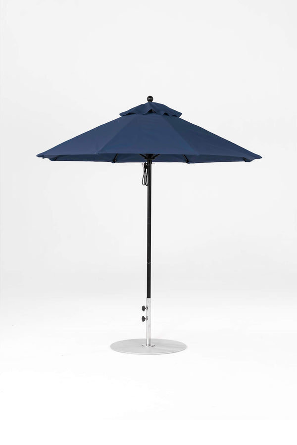Monterey Pulley Lift Umbrella | Octagonal | Black Frame