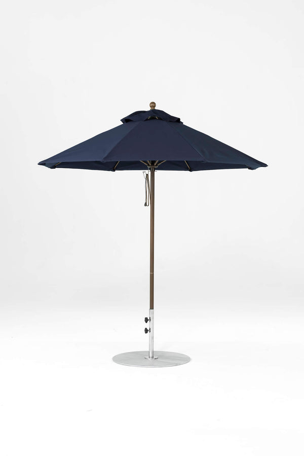 Monterey Pulley Lift Umbrella | Octagonal | Bronze Frame