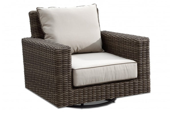Coronado Wicker Swivel Rocking Chair | Item 2101-21SR