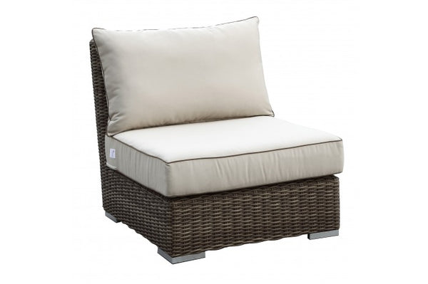 Coronado Wicker Armless Club Chair | Item 2101-AC