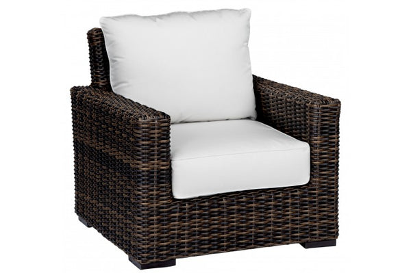 Montecito Wicker Club Chair Item 2501 21 Sunniland