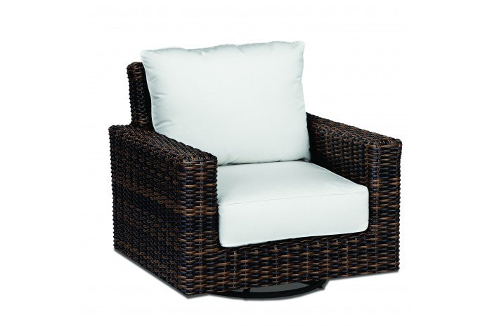 Montecito Wicker Swivel Rocking Chair | Item 2501-21SR
