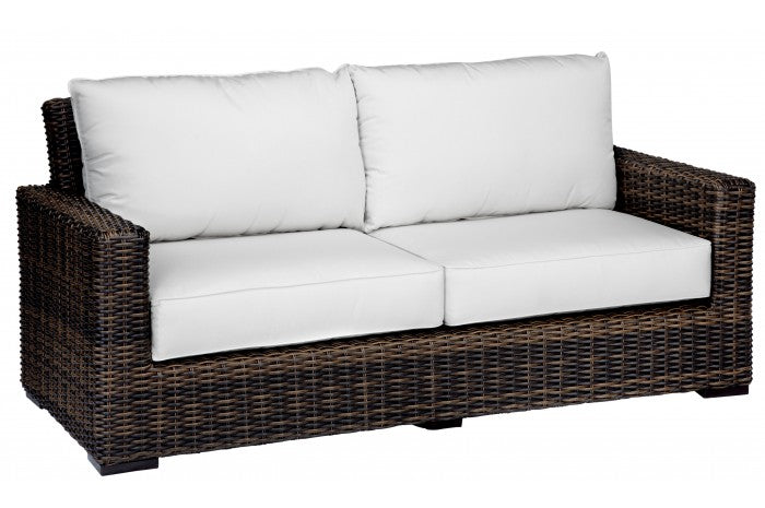 Montecito Wicker Mid Sofa Item 2501 22 Sunniland Patio