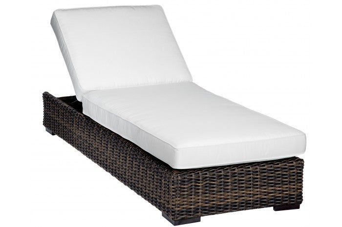 Montecito Wicker Single Chaise | Item 2501-9