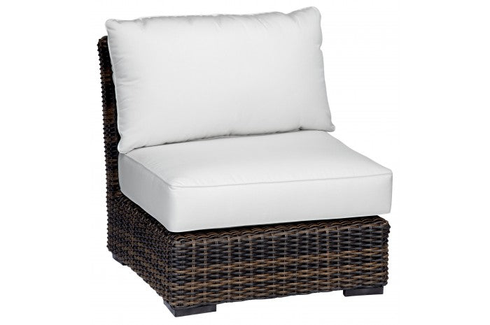 Montecito Wicker Armless Club Chair | Item 2501-AC