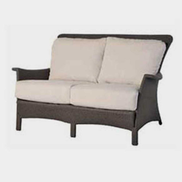 Beaumont loveseat 4 pc. replacement cushion: Boxed/Welt