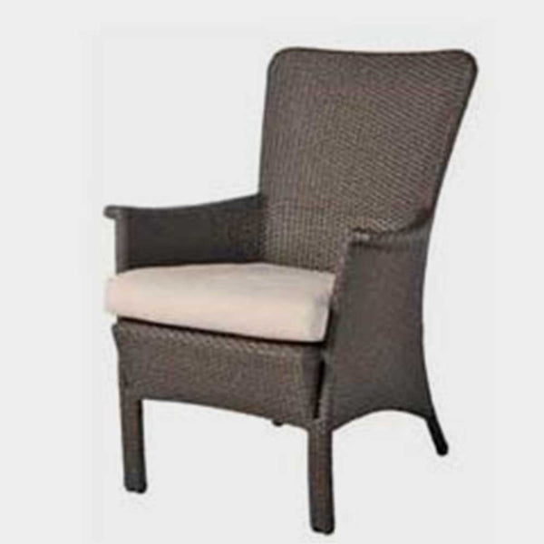 Beaumont dining arm chair 1 pc. replacement cushion: Boxed/Welt