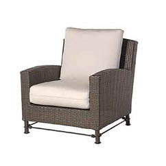 Bordeaux club chair 2 pc. replacement cushion: Boxed/Welt, Item#: 5009