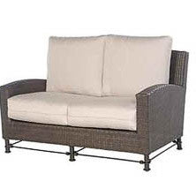 Bordeaux loveseat 4pc. replacement cushion: Boxed/Welt, Item#: 5029