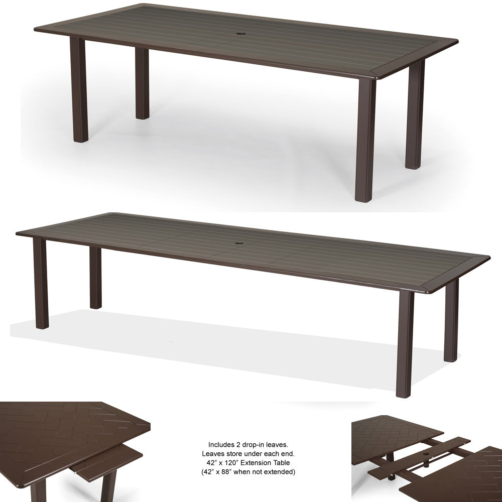 "Telescope Casual 42"" by 120"" MGP Expanding Dining Table"
