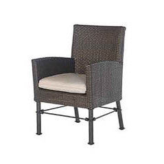 Bordeaux dining arm chair 1 pc. replacement cushion: Boxed/Welt, Item#: 5309