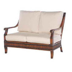 Parthenay loveseat 4 pc. replacement cushion: Boxed/Welt, Item#: 5829