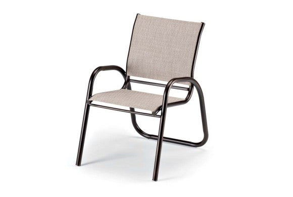 Telescope Casual Gardenella Sling Aluminum Stackable Cafe Chair | 7500