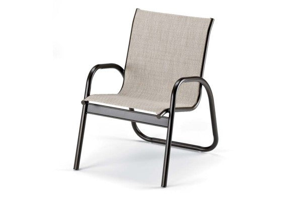 Telescope Casual Gardenella Sling Aluminum Stackable Dining Chair | 7670