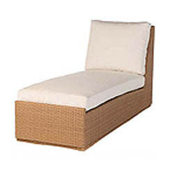 Marseille chaise 2 pc. replacement cushion: Boxed/Welt, Item#: 9079