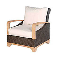 Nantua lounge chair 2 pc. replacement cushion: Boxed/Welt, Item#: 9309