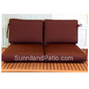 C25 -4 Piece Love Seat Replacement Cushion (Seat & Back) | Item C-1078