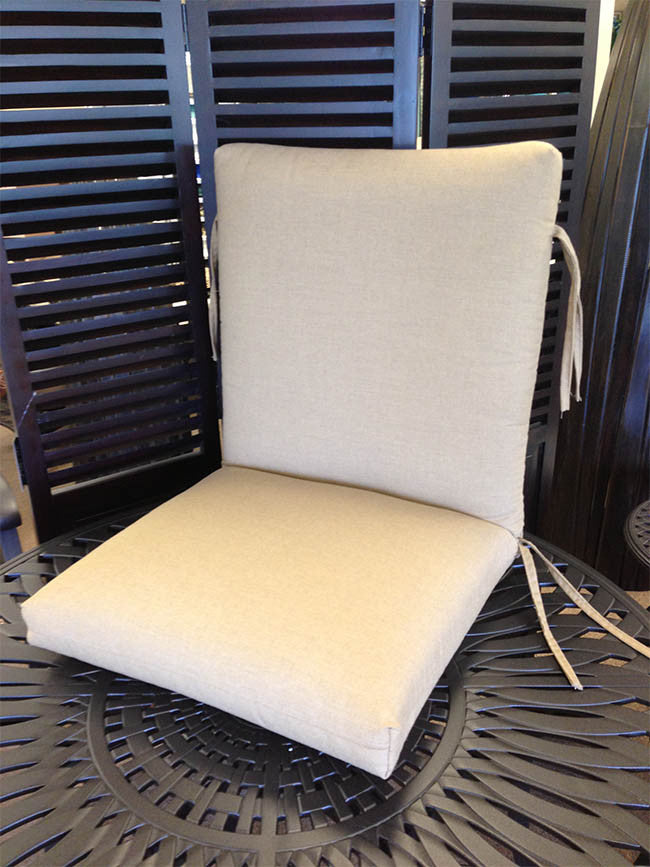 High Back Dining Chair Cushion | Item#: C-2202