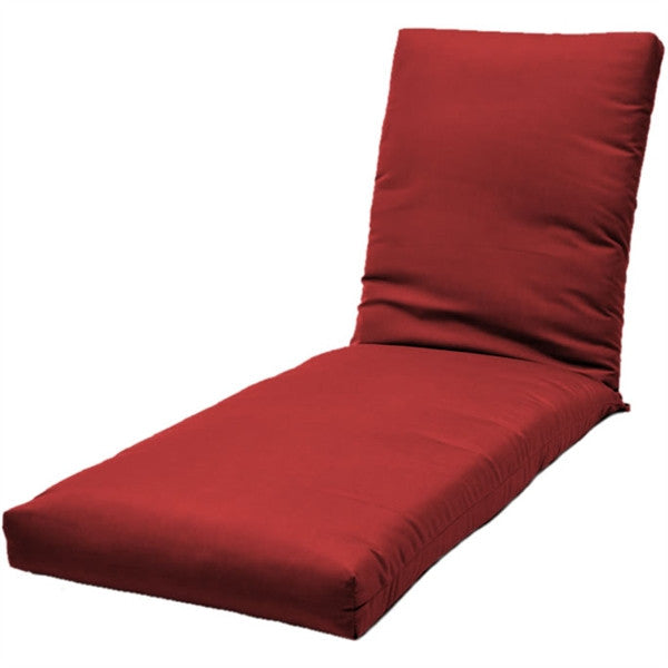 Chaise Lounge Cushion: Fabric ties | Item#: C-35D