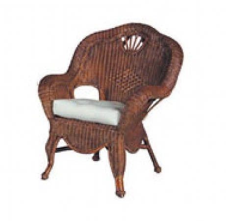 D-Shape Wicker Seat Cushion | Item#: C-81