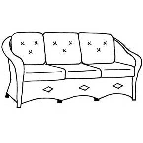 Paradiso Sofa Cushion - Seats & Backs, Item#: C-92031