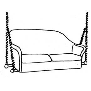 Sofa Swing Cushion - Seats Only, Item#: C-93831
