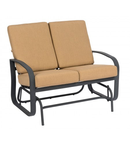 Cayman Isle Cushion Love Seat Glider- Item 2E0473