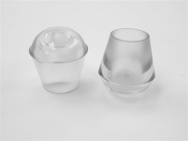"1/2"" Vinyl Tear Drop Cap 